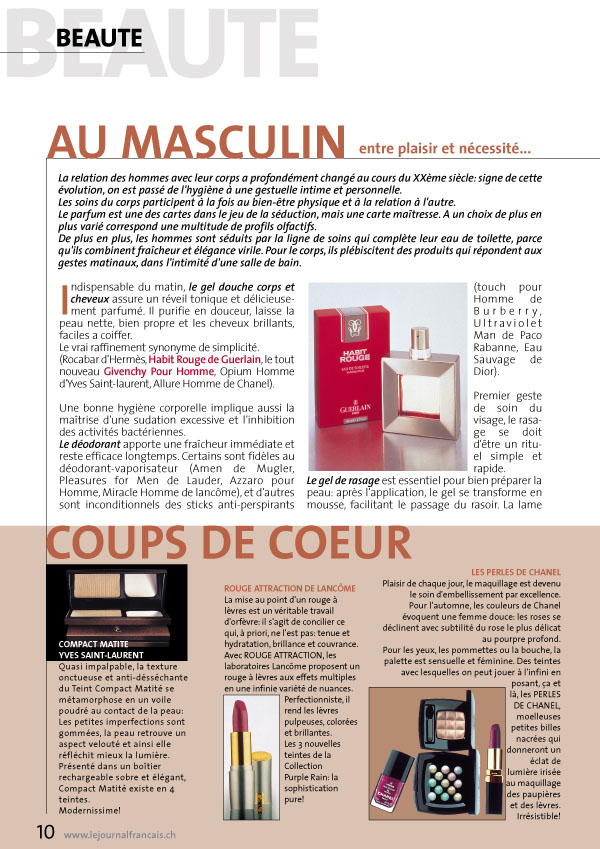 Le Journal Francais Ch